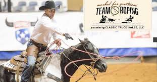 rope in big money at all breed marked for greatness team roping