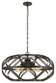 cal lighting fx 3659 5 alma 5 light 28 drum chandelier dark