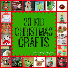 Christmas Kids Crafts 20 Christmas Kid Crafts A Little Craft In Your Day