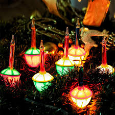 Christmas Bubble Lights For Sale Hayata 7 Count Color Christmas Bubble Lights 6 6ft Ul Listed Vintage Christmas String Lights For Christmas Tree Lighting Decor Indoor Wreath