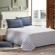 printed mordern style bedding set queen king duvet cover bedsheet stripe quilt cover promotion bedding set with 83 07 piece on hycyou s