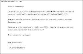 Weekly Parent Letter Template