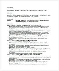 It Account Executive Resume It Operations Manager Resume Do You