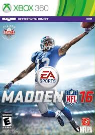 Madden NFL 16 RGH Xbox 360 Mega Xbox Ps3 Pc Xbox360 Wii Nintendo Mac Linux