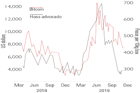 Chart Of The Week Avocados And Bitcoin Are In Sync Moneyweek