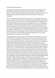 movie review essay template tips for writing a successful  sample film review essays and papers