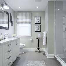 23 Ideas For Beautiful Gray Bathrooms