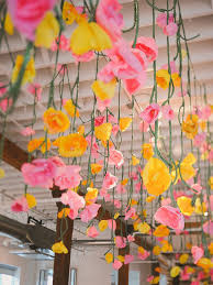 Pink Paper Flower Decorations 15 Ways To Use Paper Flowers At Your Wedding