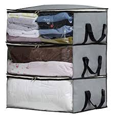 Amazon.com: SLEEPING LAMB Foldable Comforter Storage Bag Organizers ...