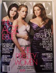 Vogue: The Presley Women; Priscilla, Lisa Marie & Riley on living with  ELVIS's legacy (The Age Issue, August 2004): Editors of Vogue: Amazon.com:  Books