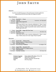 No Experience Resume Sample Awesome Resume Template Example Of No Experience Resume Sample Resume