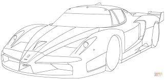 Ausmalbild Ferrari Fxx Ausmalbilder Kostenlos Zum Ausdrucken