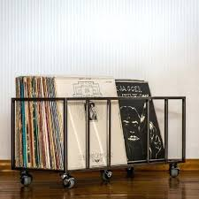 vinyl album storage vinyl record storage crate industrial style loft  perfect vinyl record storage ideas diy .