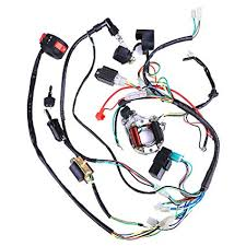 amazon com complete electrics coil cdi wiring harness atv klx 110cc chinese quad bike wiring diagram complete electrics coil cdi wiring harness atv klx stator 50cc 70cc 110cc 125cc