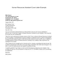 Cozy Sample Of Cover Letter For Human Resource Position 38 On
