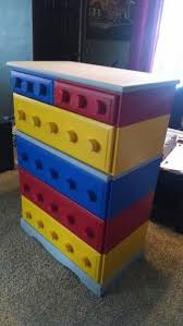 Lego Furniture How To Build A Lego Themed Dresser Diy Projects For Everyone