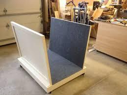 custom made art work rolling storage rack
