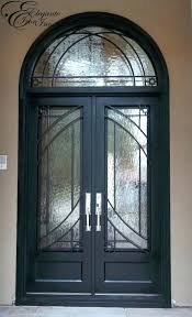 arched double front doors. Double Front Entry Doors Arched Uk Custom Wrought Iron Door With