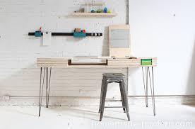 14 flip desk diy