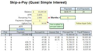 Simple Interest Amortization Chart Amortization Schedule Simple Interest Sada Margarethaydon Com