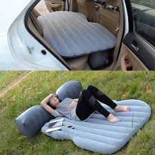 Backseat Inflatable Bed Camping Air Bed Car Travel Inflatable Mattress Vehicle Mount Suv