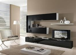 tv furniture ideas. Sleek Chair With Glossy Black TV Stand For Modern Living Room Ideas Tv Furniture