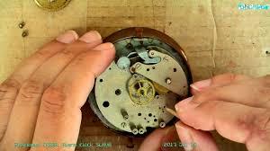 SLAVA alarm <b>clock</b>. Будильник СЛАВА неполная разборка, ремонт