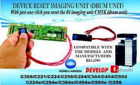 C364 bizhub c364e bizhub c368 bizhub c3850 bizhub c450 bizhub c450p bizhub c451 bizhub c452 bizhub c454 bizhub c454e bizhub c550 c6501 bizhub pro c65hc copy protection utility data administrator plugin download manager driver packaging utility font management utility hdd. Drum Chip For Konica Minolta Bizhub C224 C284 C364 C454 C554 Reset Device Ebay