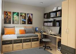 Simple Decoration For Small Bedroom Bedroom Charming Beige White Wood Glass Simple Design Small