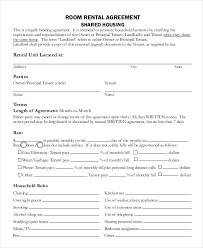 Free Printable Rental Agreement Magnificent Roommate Lease Agreement Pdf Charlotte Clergy Coalition