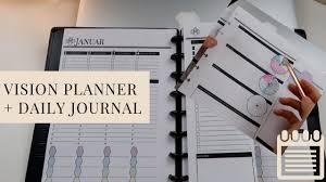 Daily Journal Planner Km Vision Planner Und Daily Vision Journal Organizedmom