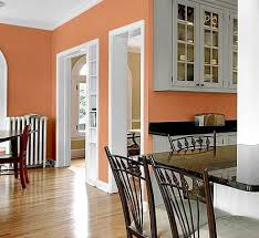 kitchen wall colors. Kitchen Wall Color - White And Peach Kitchen Wall Colors