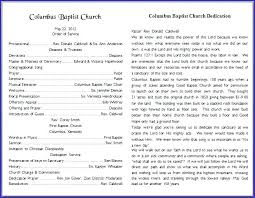 Church Program Template Church Bulletin Templates Word Best Of Program Open Template Safety