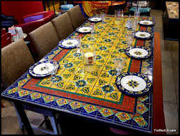 52 inch round tablecloth unique furthur whole mosaic dining tables