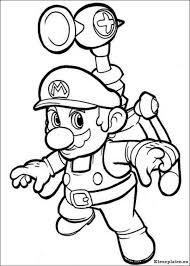 Super Mario Bros Kleurplaten Kleurplateneu