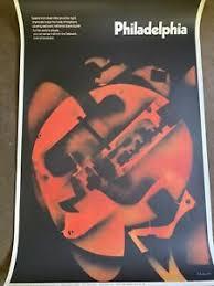 Original Vintage 1970 Alan Klawans - Philadelphia Poster | eBay