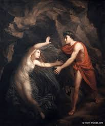 narcissus orpheus loosing eurydice