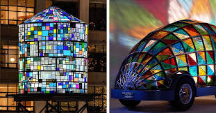 8 pieces of contemporary stained glass art that prove the craft isn t dead