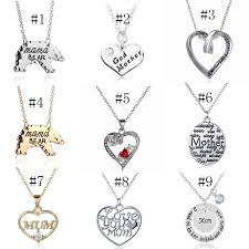 whole new fashion brand mom pendant necklace letter pendant accessories jewerly gift for mother day high quality necklace handmade jewelry charm