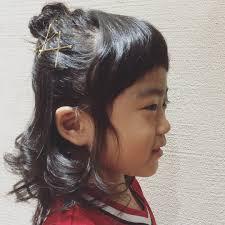 子どもにやってあげたいかわいいヘアアレンジ ヘアスタイル頭美人