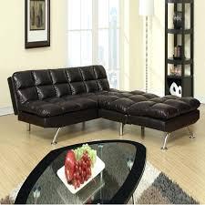 red leather futon elegant sofa bed modern 2 espresso black white faux couch