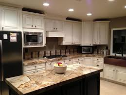 kitchens with copper sinks incredible on kitchen throughout roma imperiale white cabinets chocolate island farmhouse 26