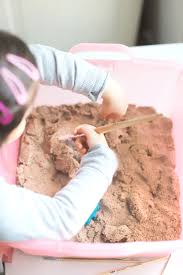 create your own diy kinetic sand dinosaur dig this kids activity is an awesome