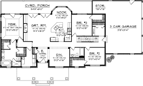 house plan 1020 00234 craftsman plan
