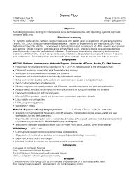 Cover Letter Resume Templates It Professional Professional It