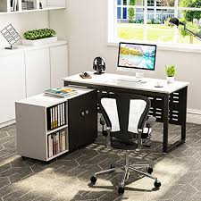 simple office furniture. Computer Desk And File Cabinet, LITTLE TREE 55\u2033 Large Simple Office PC Laptop Study Writing Gaming Table Workstation Furniture With 39\u201dMobile Printer P