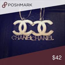 chanel earrings price. chanel hoop earnings new earrings. these are $500 in store, price reflects authencity earrings c