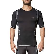 Cwx Stabilyx Tights Size Chart Cw X Mens S S Ventilator Web Top At Amazon Mens Clothing Store