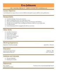 Teenage Resume Template Custom Teenage Resume Templates Youth S Westhamptonvetsus