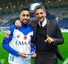 سالم الدوسري يتسلم جائزته كأفضل لاعب عربي في استفتاء CNN بالعربية لعام 2019  - CNN Arabic